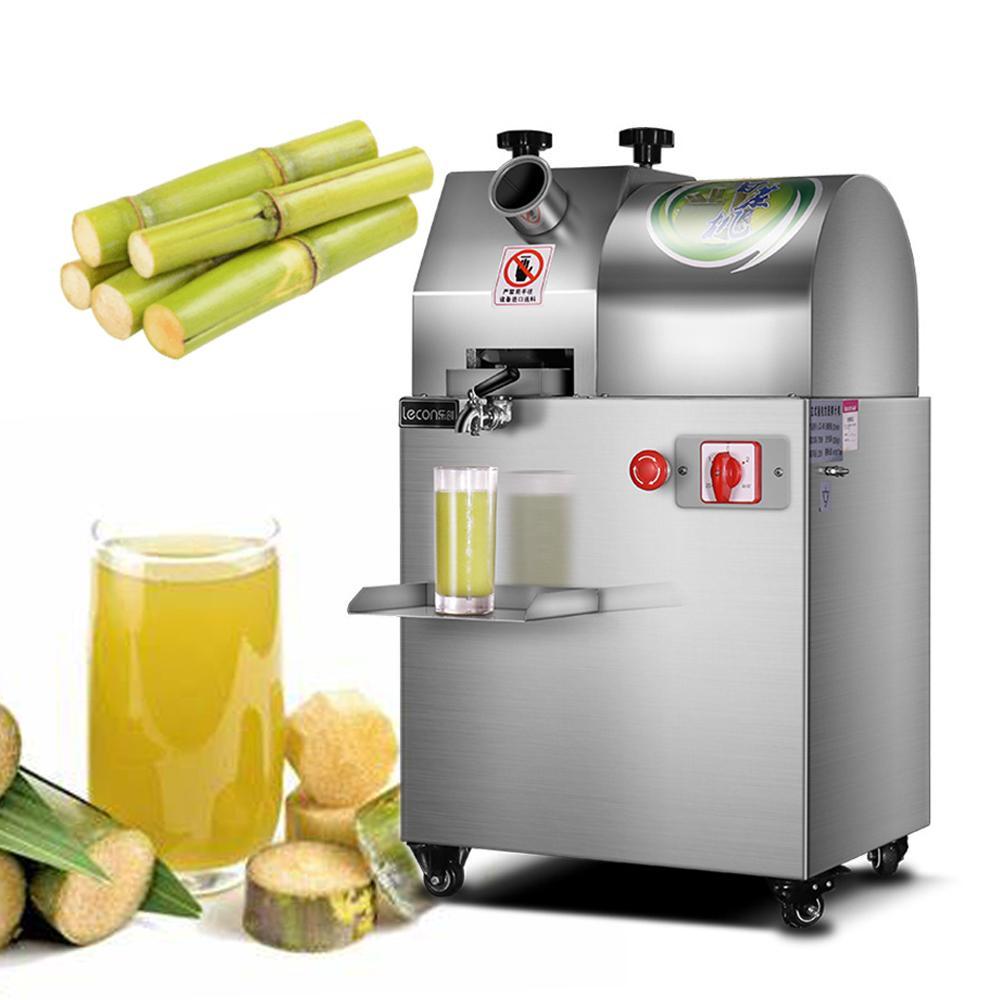 Ticari Büyük Kapasiteli Sugarcane Sıkacağı / Sugarcane Suyu Makinesi / Şeker Kamışı Sıkacağı