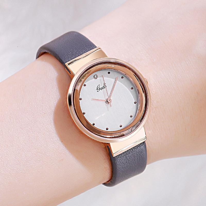 2020 Basit Saatler Kadınlar Rose Gold Paslanmaz Kız için Çelik Su geçirmez Kuvars Reloj Mujer Yeni Orjinal Marka İzle