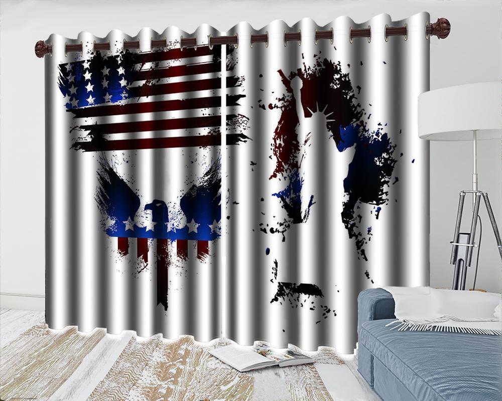 Элегантная спальня 3d занавес европейского стиля Минималистского Баннер Штора Гостиной Спальня Кухня Окно 3d плотные шторы