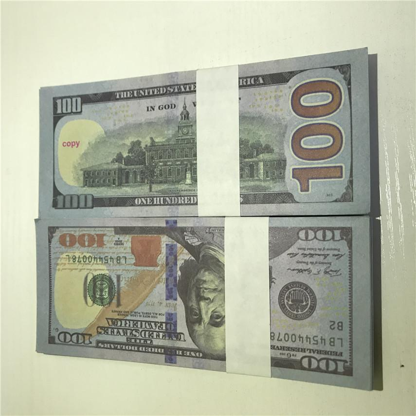 High Dmprw Paper Party Bar 100 Atmosphere 100-3 American Quality Dollar Pieces/package Factory Props Wholesale Props Currency Shipment Ljtx