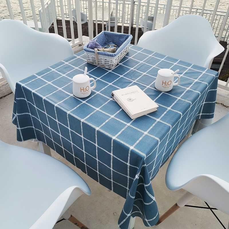 PVC masa örtüsü elbise dikdörtgen kare plastik masa örtüsü masa örtüsü su geçirmez masa dekorasyon manteles de mesa