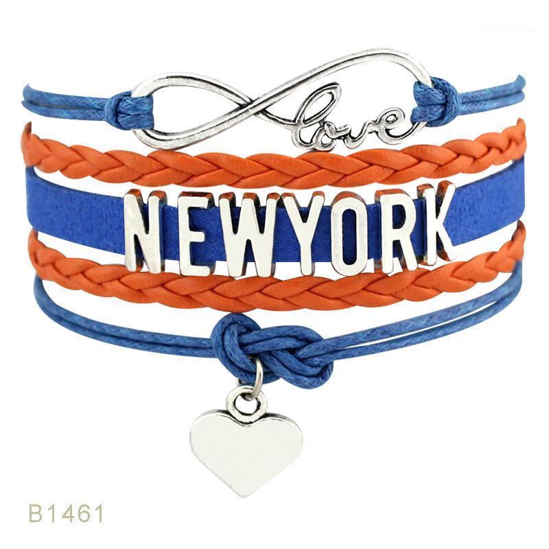 Bracelets Charm Йорк Иллинойс Грузия Кентукки Теннесси Северная Каролина Флорида Мичиган Миннесота Техасский штат Огайо мужские для женщин1