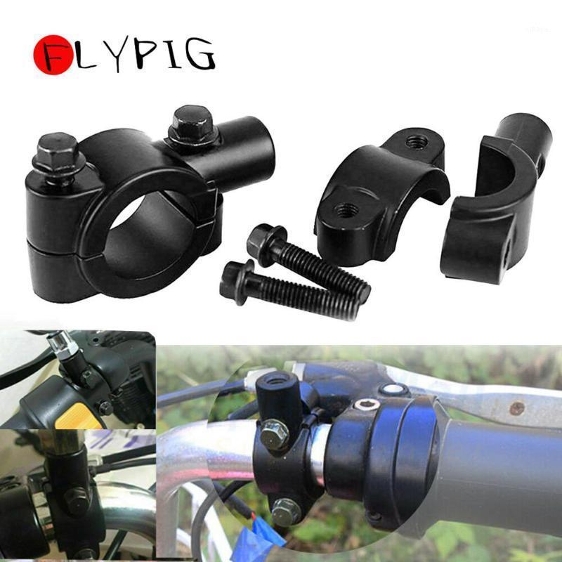 """Nuevo 7/8 """"22mm 25mm 8mm 10 mm manillar espejo soporte soportador de soporte de soporte de hierro pinza de hierro1"""
