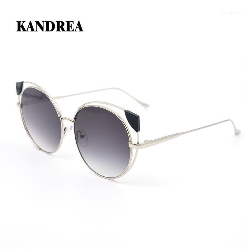 Kandre frauen katze ohr sonnenbrille sexy polarisierte fahrer brille dame übergroß metall sonnenbrille tag Nachtsichtfahrer 'Eyewear1