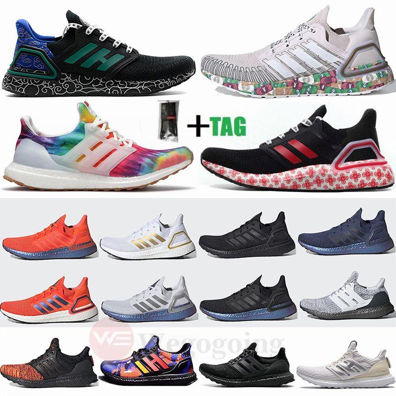 Ultra Boost 19 20 Ultraboost 6.0 4.0 hommes femmes chaussures de course monnaie CNY Dash gris mahjong Triple noir UB formateurs baskets