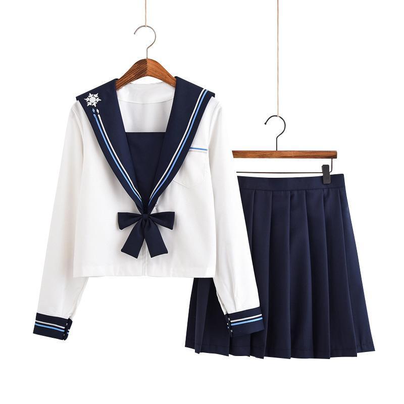 Японская школьная форма моряка одежды косметика институт школьная форма девочек одежда девушки анимация юбка складные