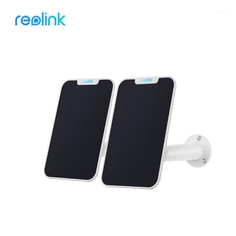 REOLINK SOLAR PANNELLO 2 PACK PER REOLINK ARGUS 2, ARGUS PRO, ECO PT e Go Ricaricabile Batteria IP WiFi WiFi