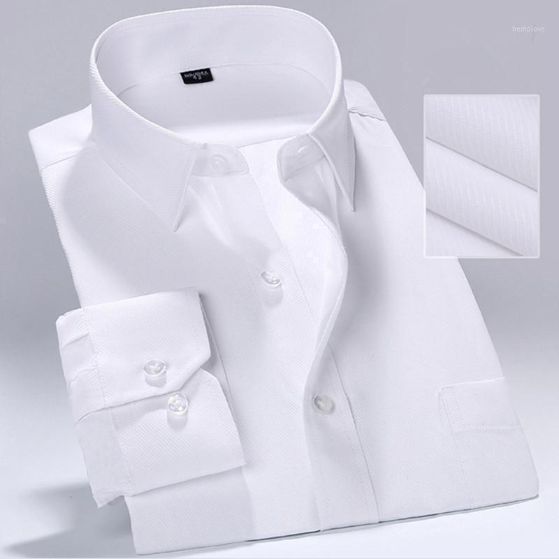 Мужские рубашки мужские моды с длинным рукавом Slim рубашка деловая повседневная формальная рабочая одежда рубашка хлопок Pure1