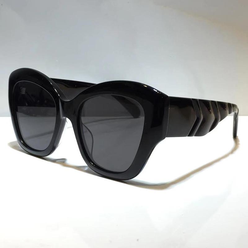0808 Nova Moda Óculos De Sol Mulheres Cat Eye Frame Goggles Mulheres Estilo popular Qualidade superior UV 400 Proteção de alta qualidade com o caso 0808s