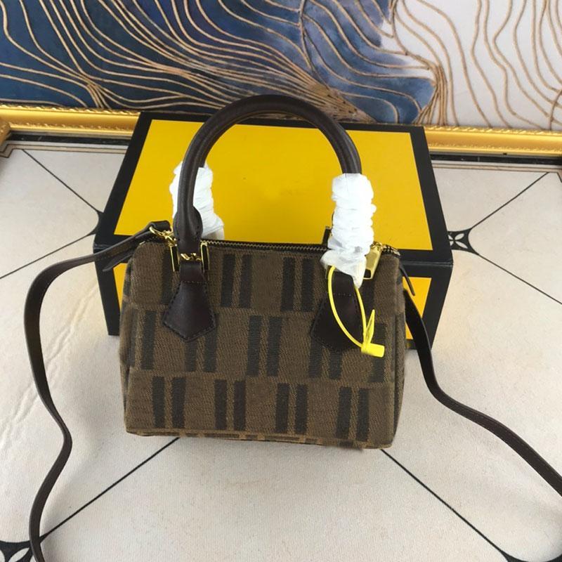 베개 가방 여성 캔버스 가방 어깨 가방 패션 패치 워크 컬러 문자 지퍼 핸드 가방 고품질 무료 배송