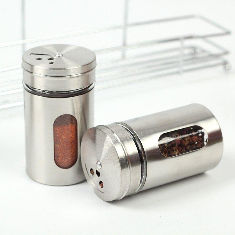 50 unids Tazas de dientes Especias Spice Pepper Jar Bottle Almacenamiento Securamiento Especial Dispensador Contenedor Herramienta de cocina Nueva FedEx DHL