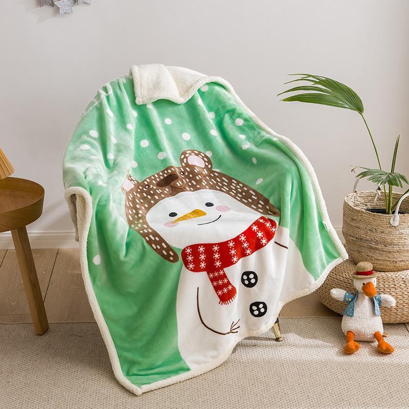 Flanelle pondérée Couverture d'hiver Baby Plush Couverture de peluche Jouette Canapé-lit Couvercle Twin Literie pour enfants Garçons Filles Enfants Cadeaux