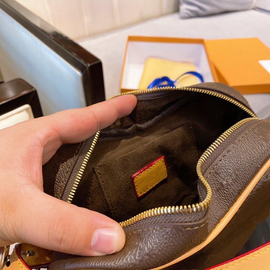 Bolso de bolso de calidad de la carta de 22 cm Alto Mini Mini Bolso del corazón del corazón Real Monedero de cuero para mujer / IMIFM