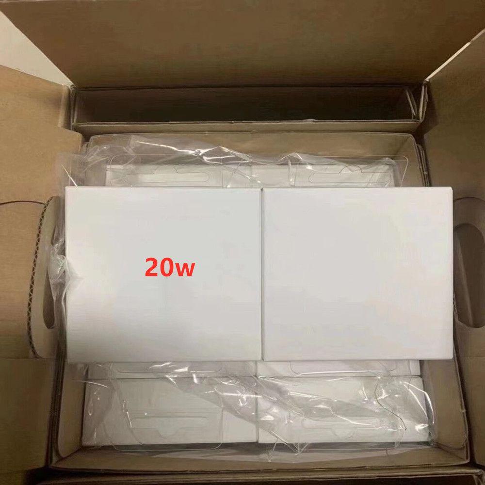 18w 20W adaptateur secteur-C USB carregador de parede TIPO C US / EU Plug cabo de carregamento de 20 W Power Delivery PD carregador rápido para IP12 PRO MAX