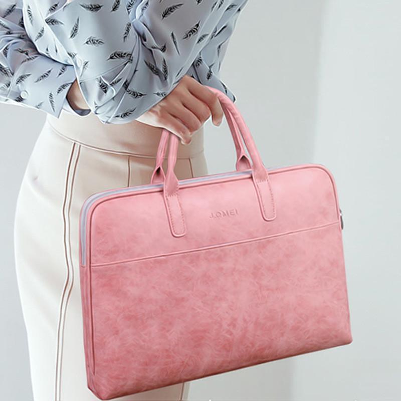 """Schöne einfache Art und Weise Frauen-Handtasche 14 Zoll 14.6"""" Laptop-Computer-Beutel-Leder-Geschäfts-Aktenkoffer"""