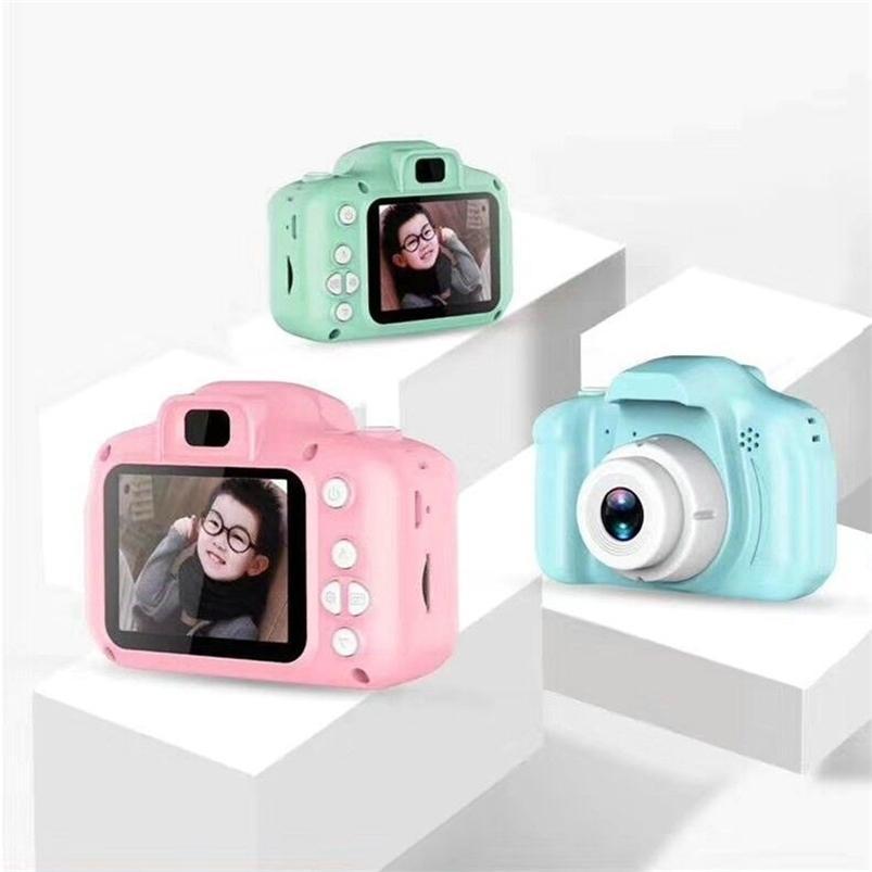Дети Мини милая цифровая камера 2.0 дюймов фото фотоаппарат 1080P дети девушки игрушки видео рекордер видеокамера рождественский подарок 201214