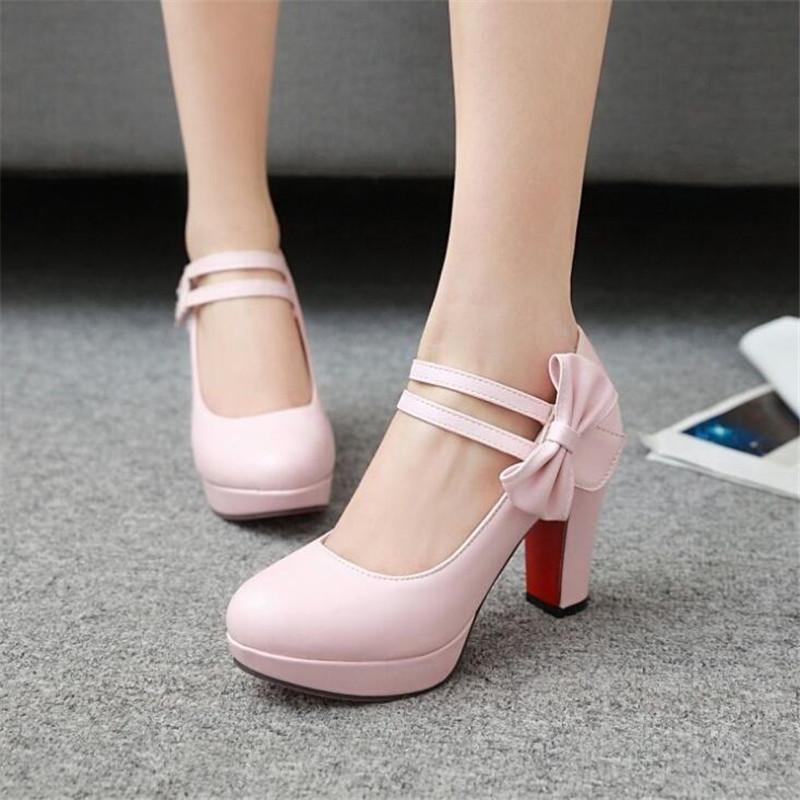 Moda Çocuk Kız Topuk Çocuklar Prenses Sandalet Kelebek Düğüm Kadın 9 cm Yüksek Topuklu Parti Düğün Ayakkabı