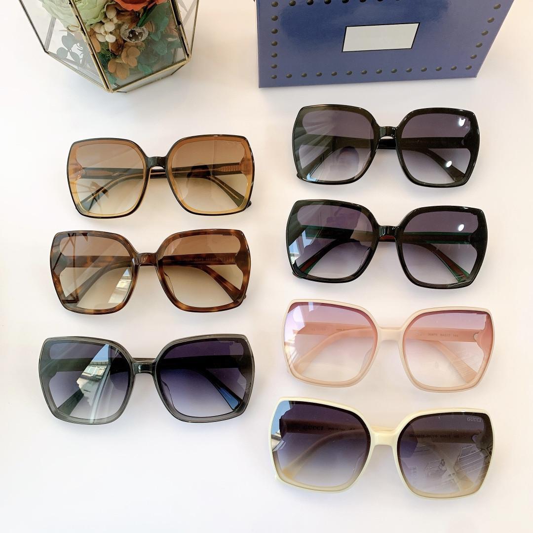 2021 الخريف والشتاء جديد 0887s الكلاسيكية نمط الأزياء مزاجه مطابقة الرجال والنساء النظارات الشمسية سيدة النظارات الشمسية الحجم 64-14-145