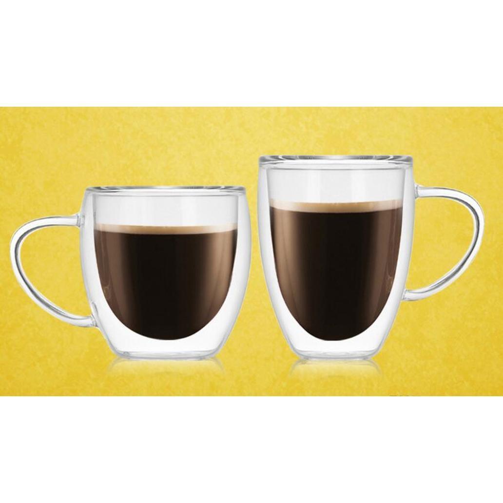1 PC 내열성 이중 벽 유리 컵 맥주 커피 컵 세트 수제 크리 에이 티브 맥주 머그잔 차 유리 위스키 GL BBYSFE BDesports