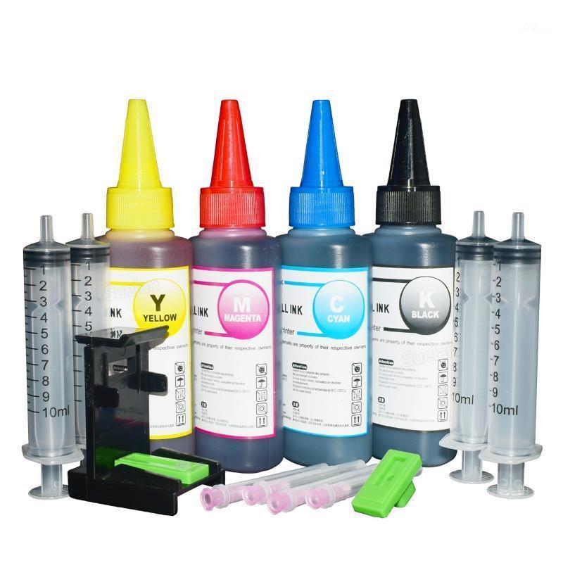 Printer Ink for 305 Xl Ink Cartridge For DeskJet 2300 2700 4100 ENVY 6000 6400 305 Cartridge Refill Kit100ml1