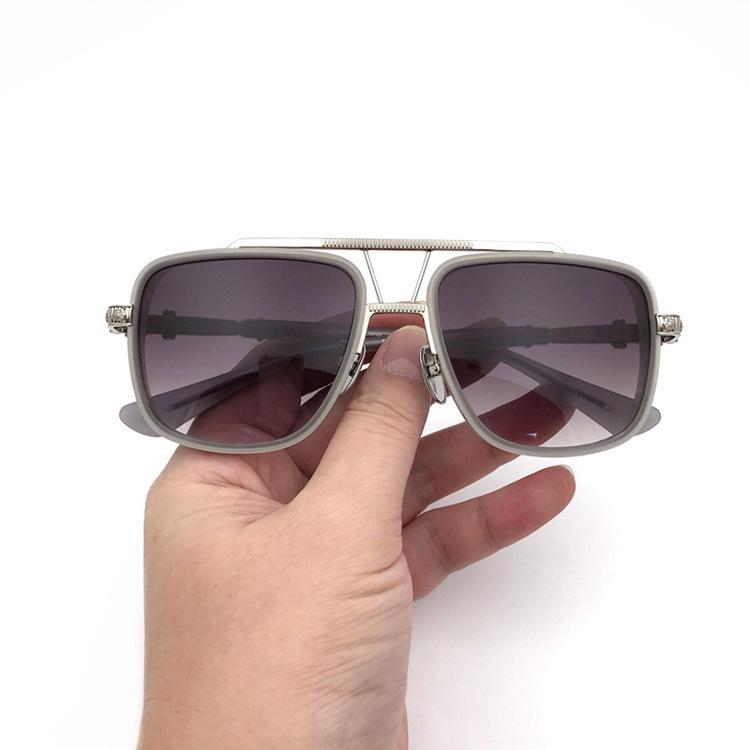 Mulheres Mulheres Oversized Sunglasses Homens Vintage Grande Quadro Sun óculos de sol Mens Óculos de sol moda personalidade sol óculos com caixa original