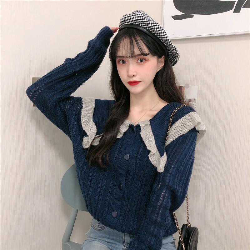 Heydress вязаный кардиган кашемировой свитер женщины сладкие каваи Корейский кардиган шикарный французский свитер Harajuku женская одежда осень