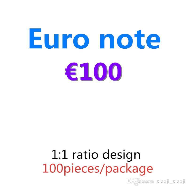 Venta al por mayor Euro Bar Atmosphere Prop 10 Faux Play Club de noche 20 Dinero Billet Money Fake Movie Money 06 100 Euro 50 Billet Lunbd