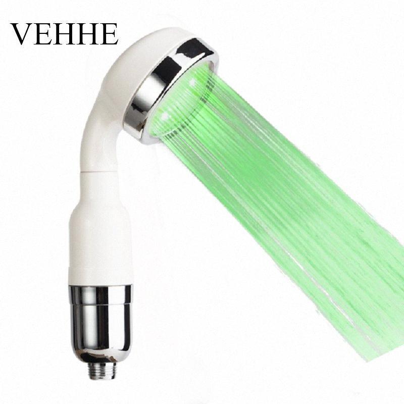 Painel Laser VEHHE LED Showerhead Filtro de alta pressão ABS Água Saving Chuveiro Anion de extinção Bico VE207 nSxD #