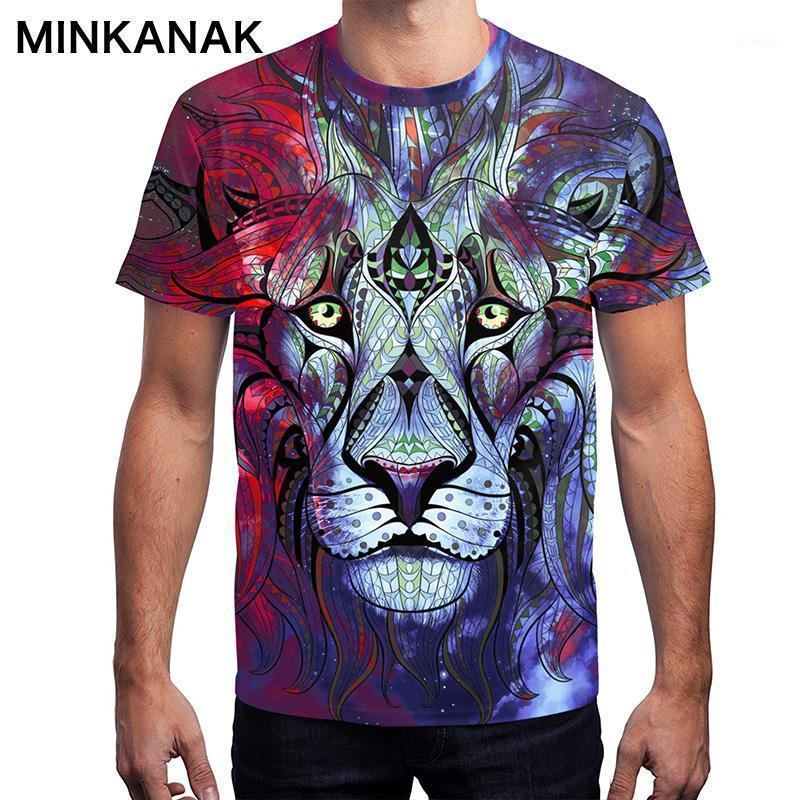 Camisetas para hombres estilo británico tigre tigre impresión animal camiseta hombre wman deportes al aire libre sueltos tees adulto rápido día de Navidad tees1
