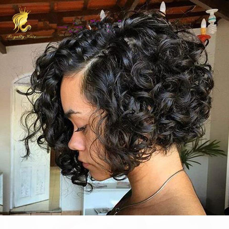 Charas sin glanas pelucas de encaje completo sin procesar pelucas de pelo humano de encaje humano brasileño sin procesar para mujeres negras pelucas frontales de encaje pelucas cortas