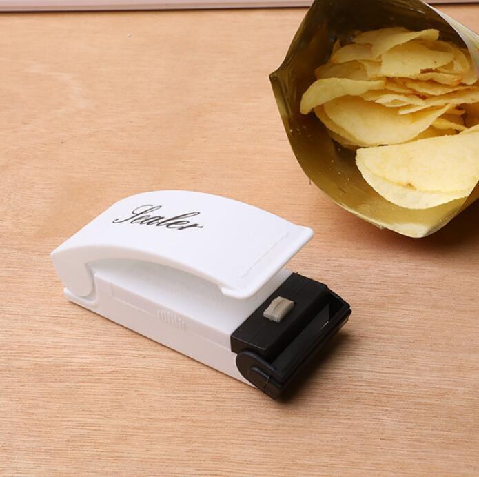 Tasche Wärmeversiegelung Mini Wärmeversiegelungsmaschine Packung Plastiktüte Impuls Sealer Dichtung Tragbare Reise Handdruck Lebensmittelschoner EWB2811