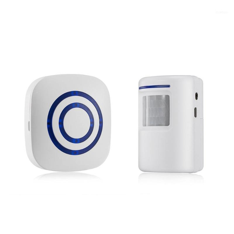 Smart Home Sensor Porta Chime, Wireless Business Motion Detector Detector Doorbell Security Readway com 1 plug-in re1