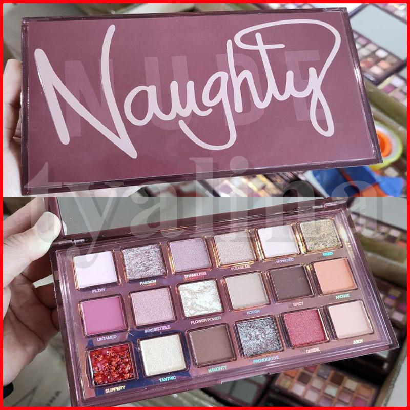 Makeup Beauty Naughty Nude Eyeshadow Palette Shimmer Matte