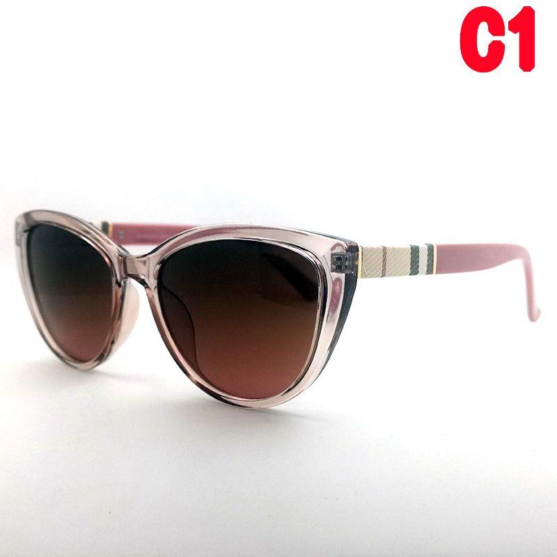 Frauen Gläser Mode Sonnenbrille UV400 Goggle Rosa Katze Eye Sonnenbrille Retro Klassische Outdoor-Sport Sportlässig Herrengläser Hohe Qualität