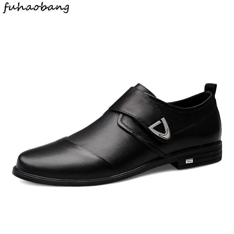 Erkekler Ayakkabı parti için Ofisi Gelinlik iş Ayakkabı erkekler üzerinde Casual hakiki deri loafer'lar Lüks loafer'lar Cap Toe Kayma