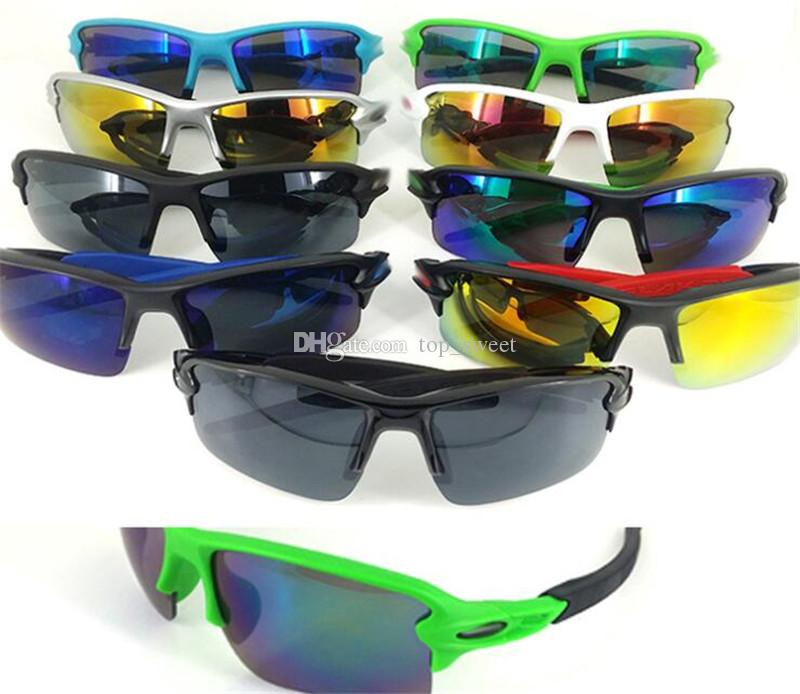 Bisiklet Gözlük Erkekler Güneş Gözlüğü Erkekler Açık Havada Spor Oculos De Sol Feminino Moda Güneş Gözlükleri Kadın Orijinal Güneş Gözlüğü 9 Renkler