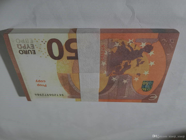 08 Оптовая штука Оптовая подделка M Banknotes Banknotes Piece Money Paper Bills Bills Euro 50 Цены EUROS ROP EUROS ROP GOLD GOLD MONEY VCDND