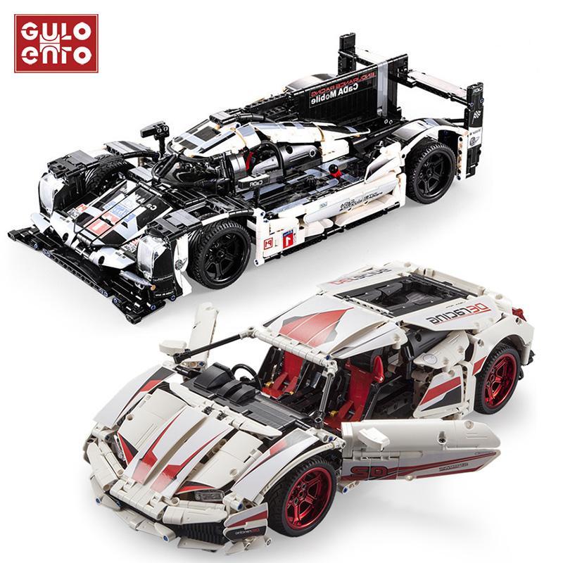 Technic LP610 AE86 resistencia Car Model Building Blocks Racing Super Sports Racer vehículo juguetes de los ladrillos regalos para los niños de los niños 1008