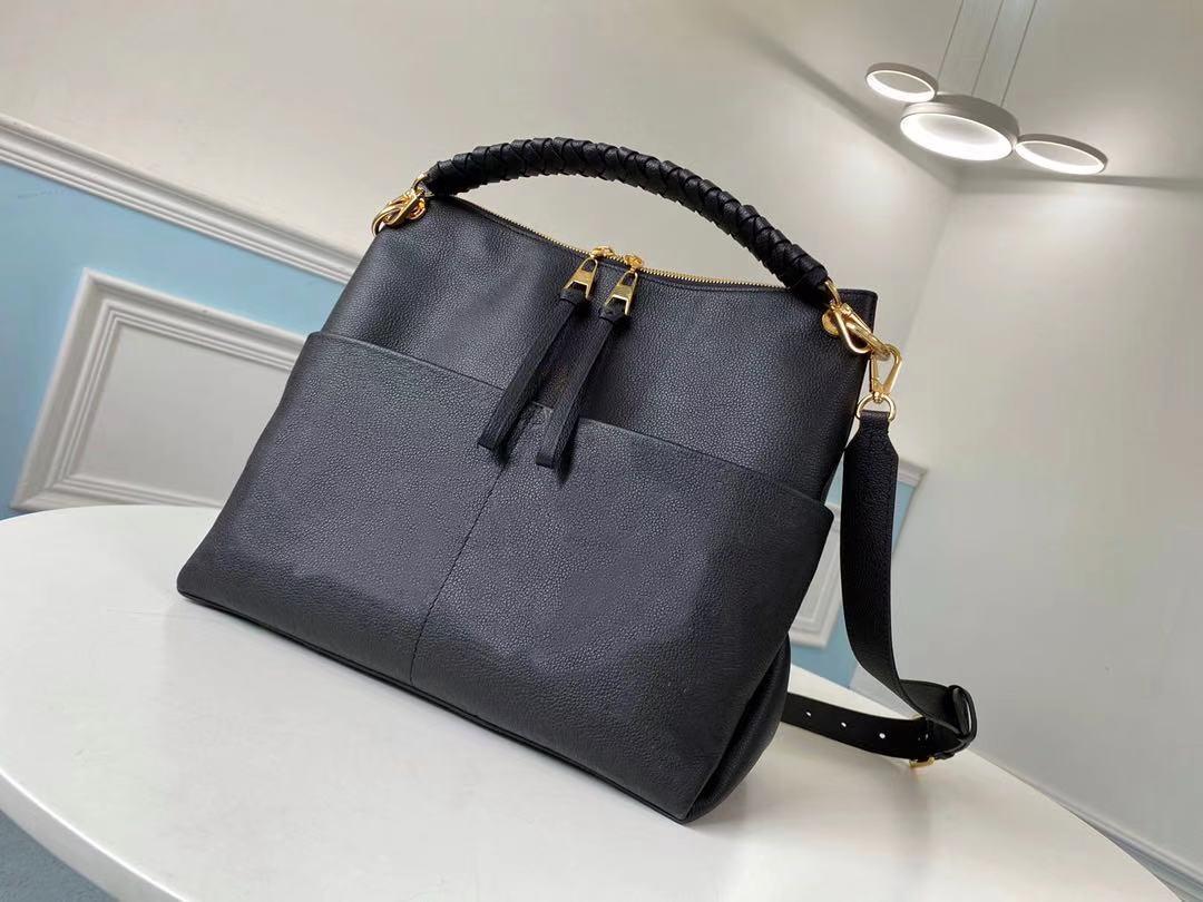M45523 Zains Hobo Функциональные большие сумки Maida Bag Сумка Качество Изящные женские Новые Hobo Hobo Высокие Кошельки Леди Сумка Crossb XSMP