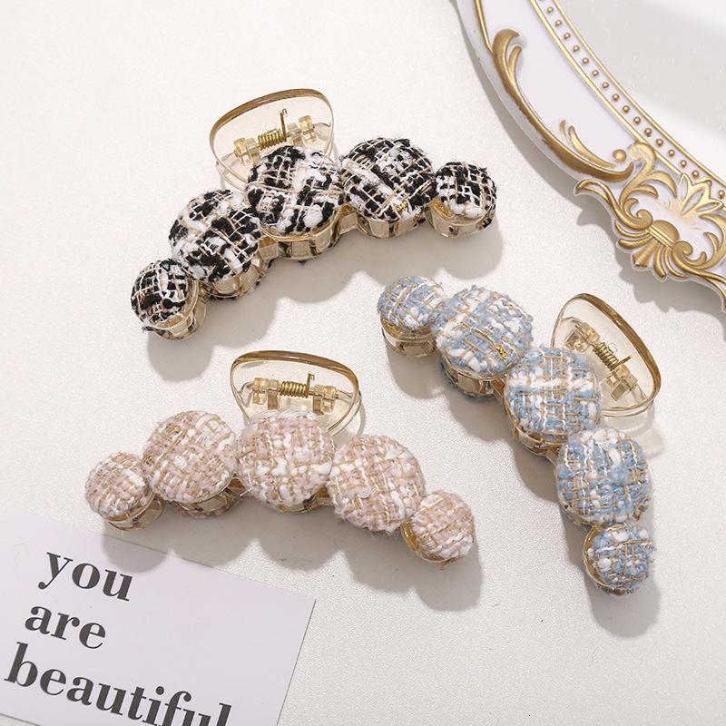 Tricoter Clips Coton pour filles Fashion Crabe Coupes de cheveux Femmes Accessoires coréen Nouveaux griffes de cheveux YHM885 346 G2