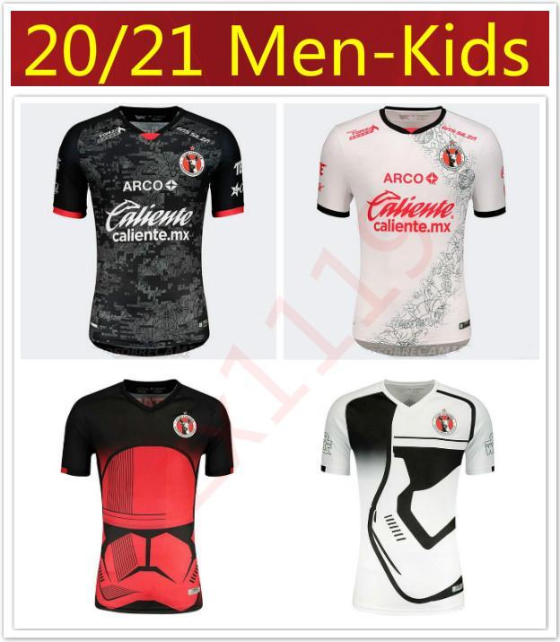 Hommes enfants 2020 2021 Xolos de Tijuana garçons jersey de football kits 20 21 Starry Sky Limited Edition RIVERO LUCERO chemise BOLANOS de football