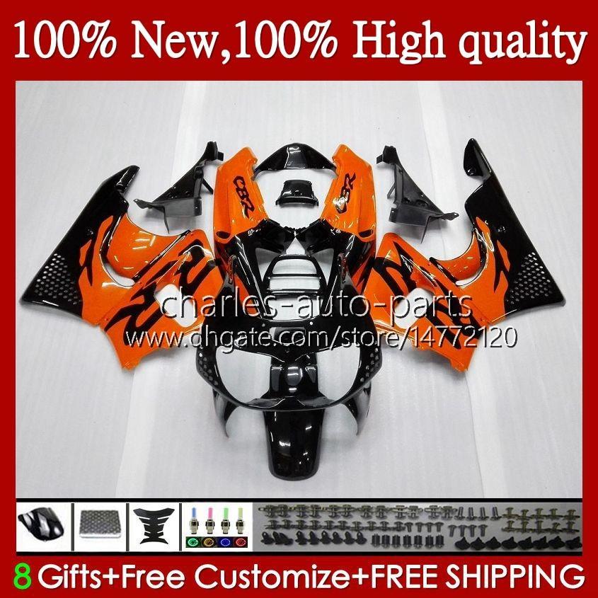 Kropp för Honda CBR 893RR 900RR CBR900 Orange Svart CBR893 900 893 CC RR 95HC.5 CBR900RR 1994 1995 1996 1997 CBR893RR 94 95 96 97 Fairings