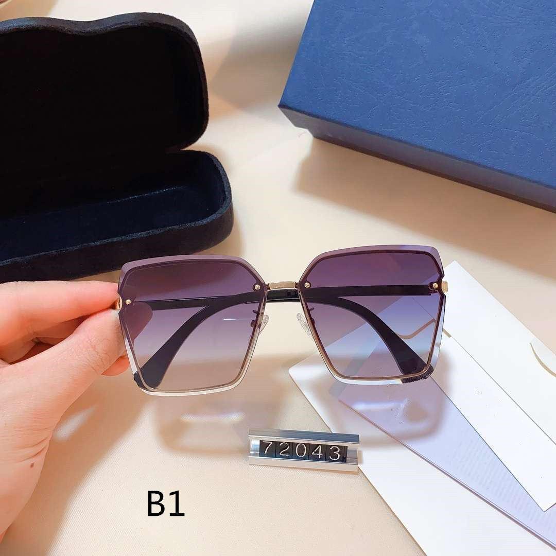 Frauen Sonnenbrillen Goggle Sonnenbrille Sommer-Frauen-Schutzbrille-Glas 10 Farboptionen Hoch Qualität