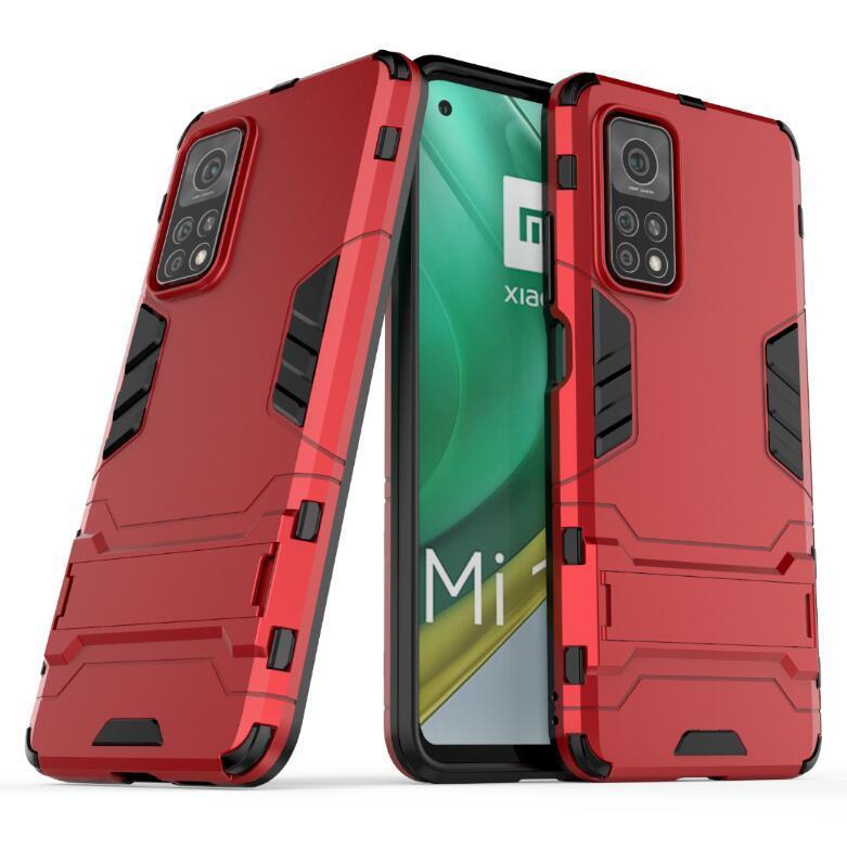 Для Xiaomi Mi 10T Pro Case Классический Прочный Combo Гибридные Доспех кронштейн Impact Новый кобура Защитная крышка для Xiaomi Mi 10Т Pro