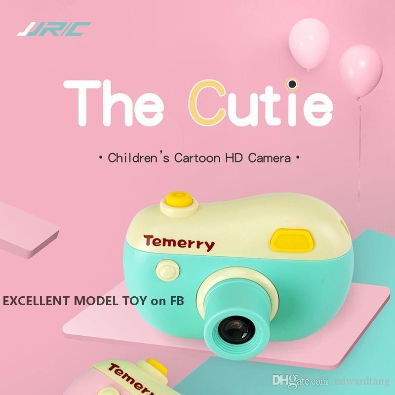 Jjrc v01 cartoon kinder 8-megapixel hd kamera spielspieler spielzeug, süße video recorder, mini slr, digitalkamera, weihnachtskind geburtstagsgeschenk, 2-2