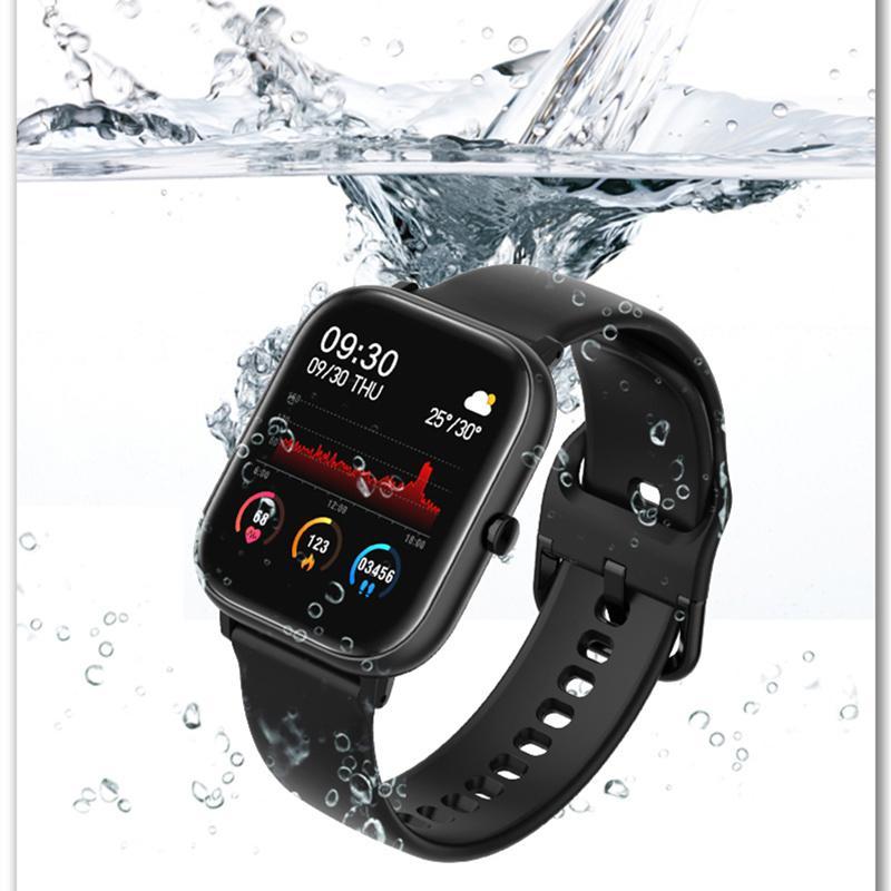 2020 Nuovo orologio Smart Watch Womens orologi Sport Guarda Braccialetto fitness Braccialetto di frequenza cardiaca per Android Xiaomi Apple Huawei Impermeabile Vendita calda