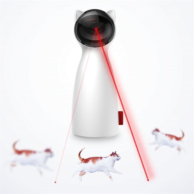 الحيوانات الأليفة الليزر التلقائي التفاعلية usb الكهربائية السيارات الدورية لعبة المطارد لممارسة التدريب Enterta القط ألعاب 201109