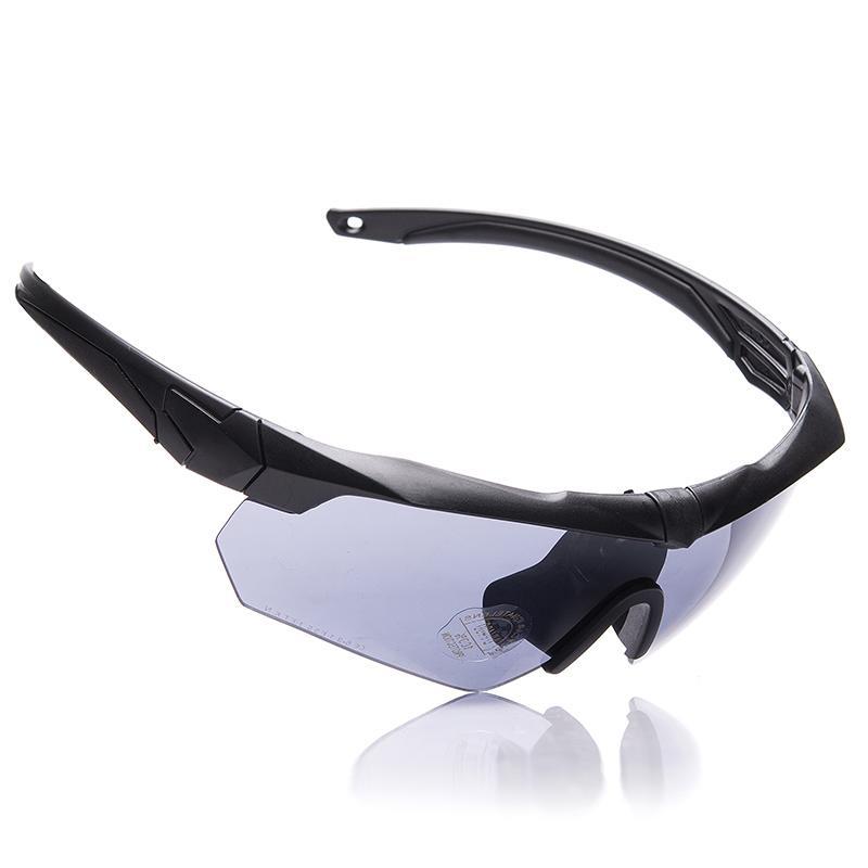 BLbulletproof Askeri versiyonu özel CS asker çekim gözlük patlamaya dayanıklı taktik gözlük miyopi açık Güneş erkek M L