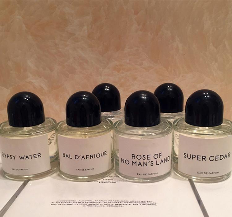 Perfume neutral caliente All Serie Blanche Super Cedar Rose de Ninguno Mans Land 100ml EDP Diseño especial Nuevo en caja
