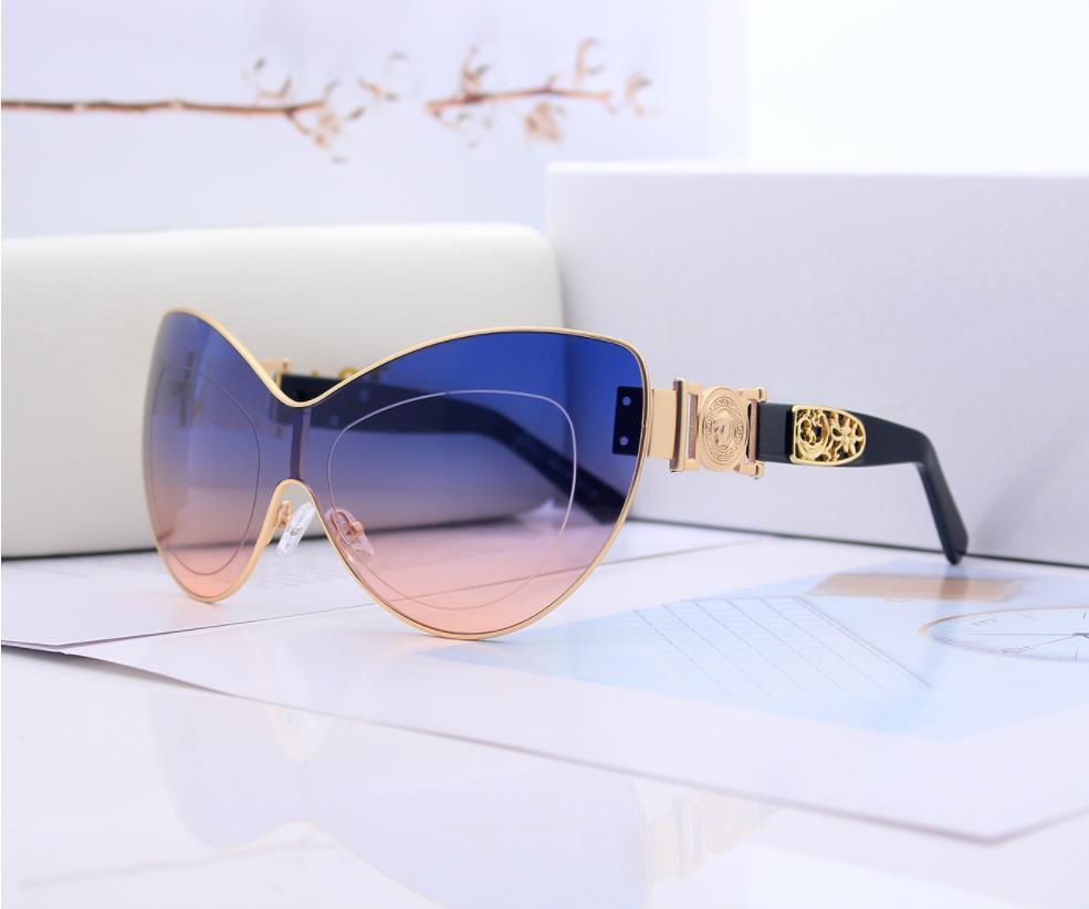 Designer Sunglasses Sunglasses Luxury Sunglasses Brand Brand for Man Glass Driving UV400 Adumbral con gradiente di scatola Facoltativo di alta qualità